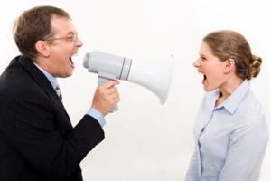 How Do Men React in an Argument?